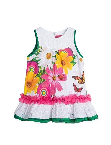 Desigual Cristina - Vestido para bebé - niñas 329e9756826a