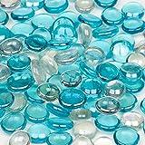 Petco Ocean Blue Mix Gel Gems Gravel Accents, 16 OZ