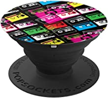 iCreate Cassettes PopSockets Stand for Smartphones & Tablets - PopSockets Grip and Stand for Phones and Tablets