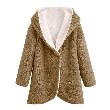 Amazon.com: Womens Coats Winter Besde Womens Fashion Solid Warm Plush Lightweight Outwear Curved Hem Longline Faux Fur Sherpa Fleece Hoodie Coat: Sports & ...