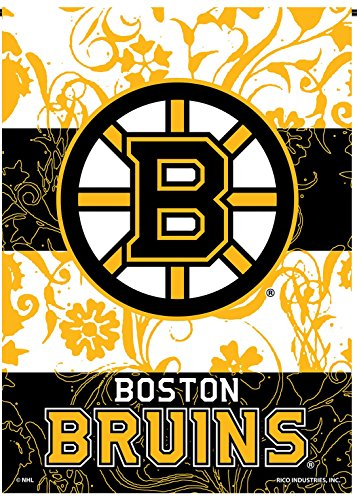 Boston Bruins Rico Premium 2-sided GARDEN Flag Outdoor House Banner Hockey