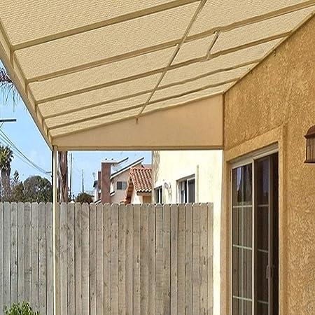 XUERUI - Toldo de Tela para Proteger del Sol, Resistente al Viento, para jardín, balcón, toldo: Amazon.es: Hogar