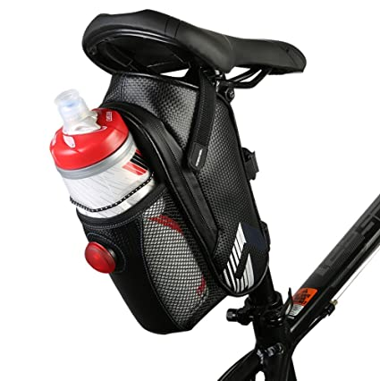 Amazon Com Allnice Waterproof Bike Bicycle Saddle Bag Seat Bag