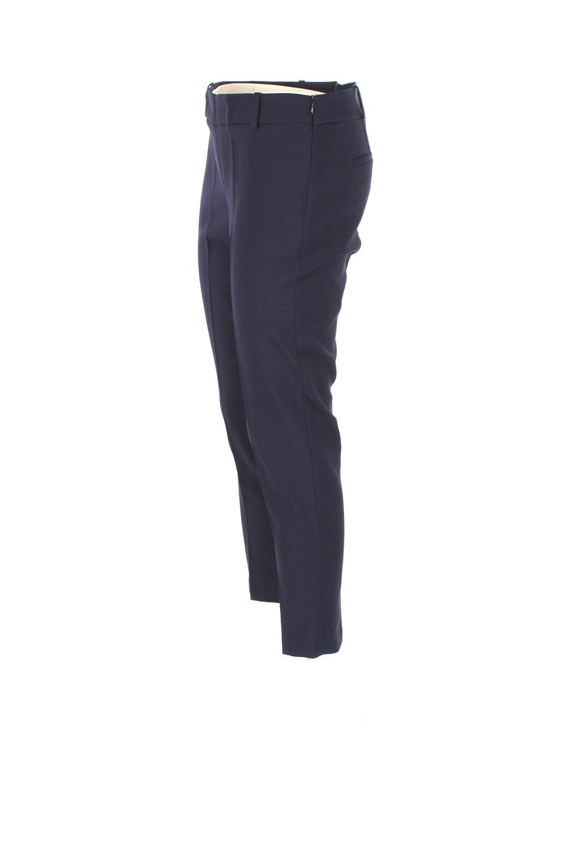 KOCCA Pantalone Donna 46 Blu Amalio Autunno Inverno 2017 18 at Amazon  Women s Clothing store  f4cda94cab7