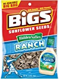 BIGS Hidden Valley Ranch Sunflower Seeds, 5.35-Ounce Bags (Pack of 12)