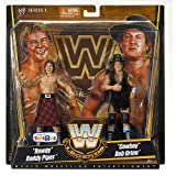 Mattel WWE Wrestling Exclusive True Legends Elite Action Figure 2Pack Rowdy Roddy Piper Cowboy Bob Orton