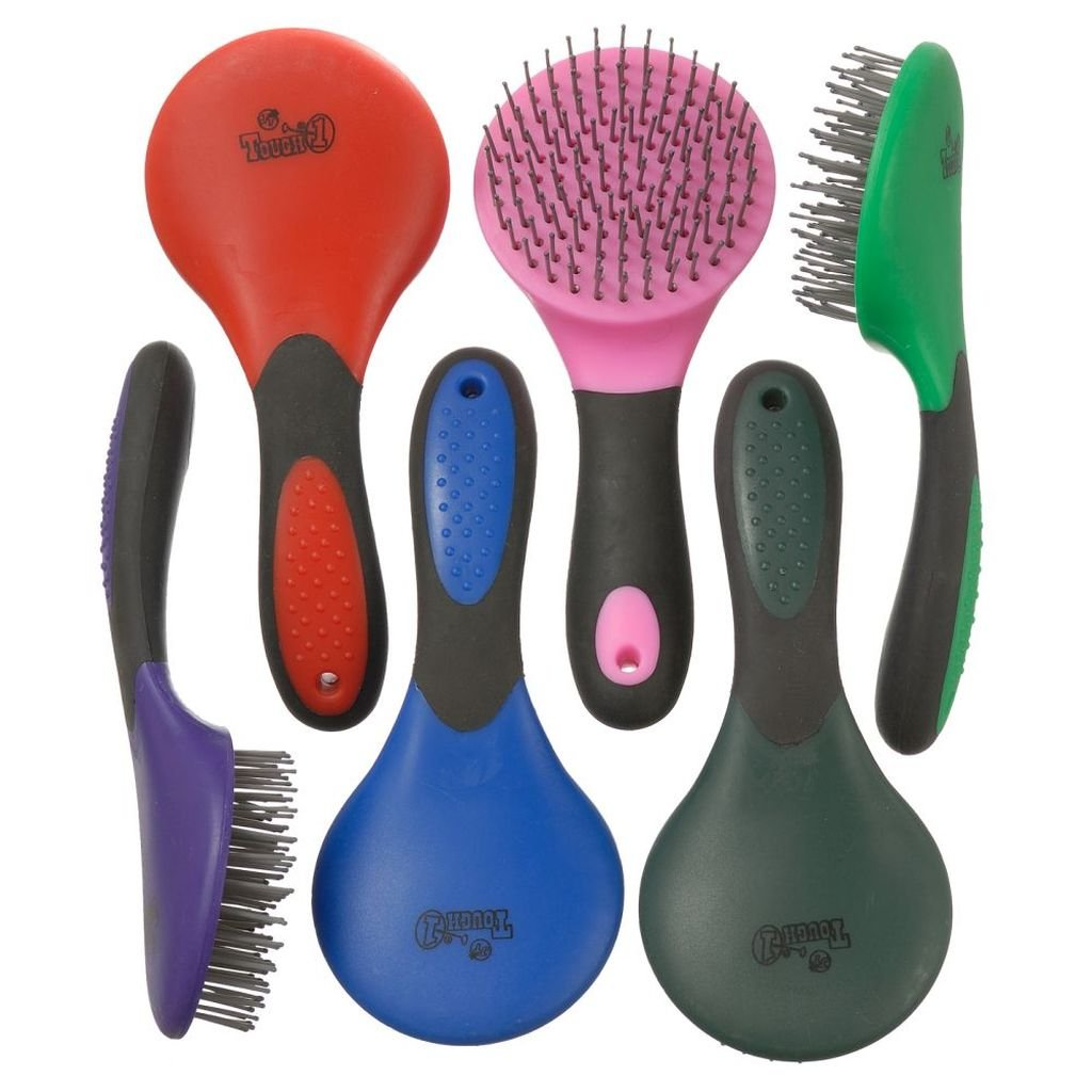 Tough-1 Great Grips Tail and Mane Brushes - 6 pk.
