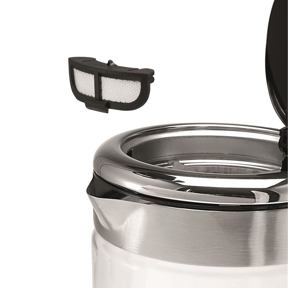 """WMF CE"""" Kitchenminis Glass Kettle Vario, Stainless Steel, Silver, 25.5 x 21  x 25.5 cm- Buy Online in Qatar at qatar.desertcart.com. ProductId :  63692344."""