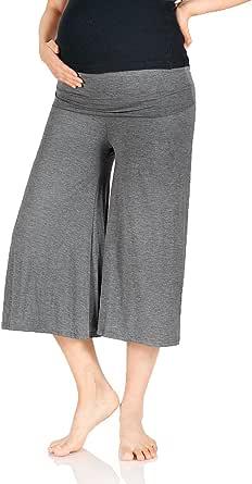 Beachcoco Women's Maternity Comfortable Capri Pants Made in USA