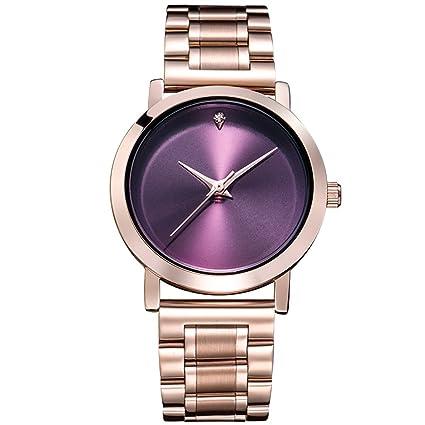 William 337 - Reloj de Pulsera para Mujer (Esfera Grande, Relojes Impermeables)
