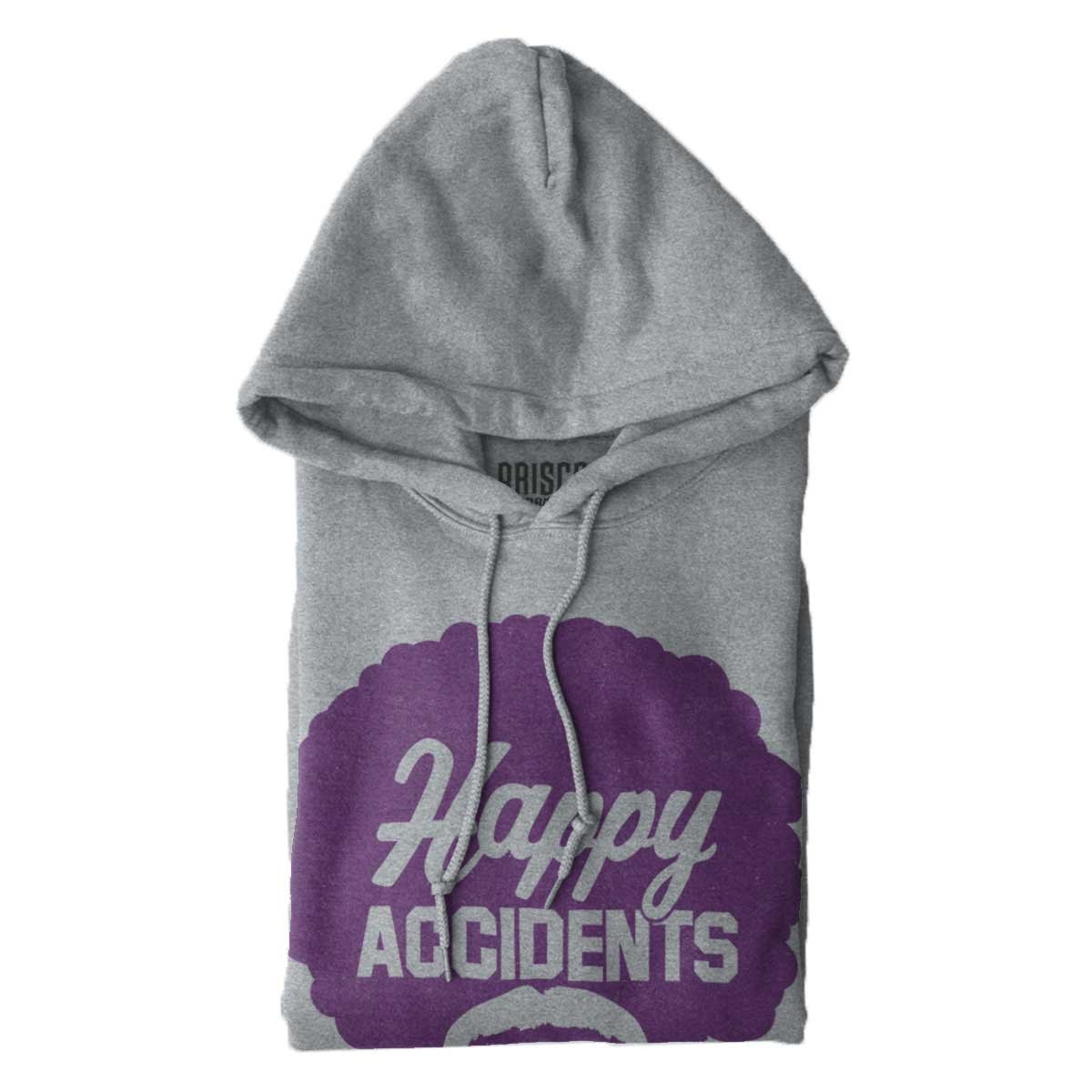 Brisco Brands Happy Accidents No Mistakes Bob Ross Joy of Painting Hoodie Sweatshirt by Brisco Brands (Image #6)
