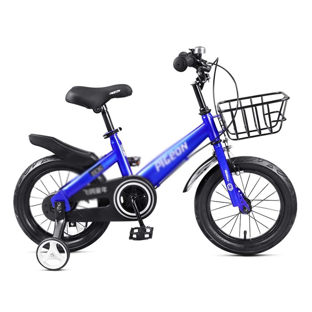 entrega gratis azul Bicicletas niños niños niños de una Sola Velocidad, montaña, niña, Cuadro de Acero de Alto Carbono, Adecuado para niños de 3-10 años 12inches  Tu satisfacción es nuestro objetivo