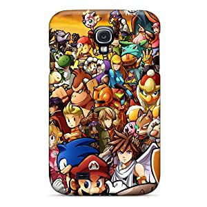 SherriFakhry Samsung Galaxy S4 Bumper Hard Cell-phone Case Custom Colorful Super Smash Bros Wii Pictures [VFC18974rdZw]