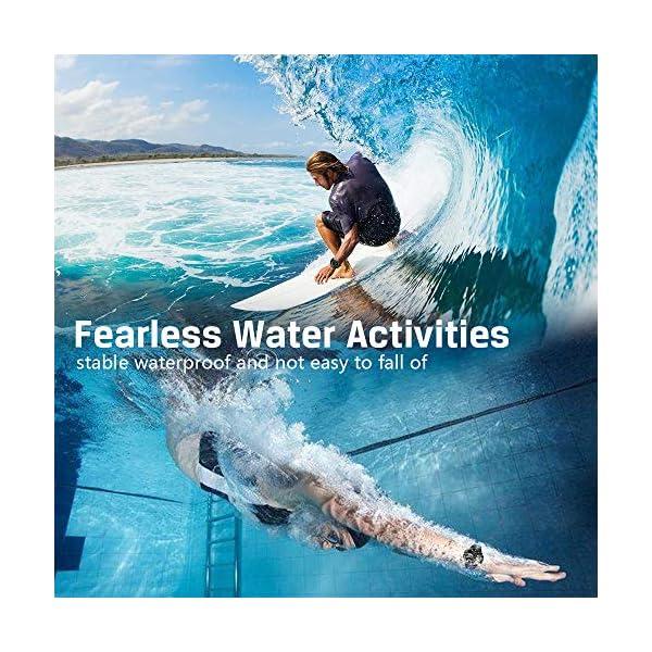 Montre Résistant l'eau 10 ATM 100m Lumineux Montre de Plongée sous-Marine avec Mouvements Numériques et Analogiques…