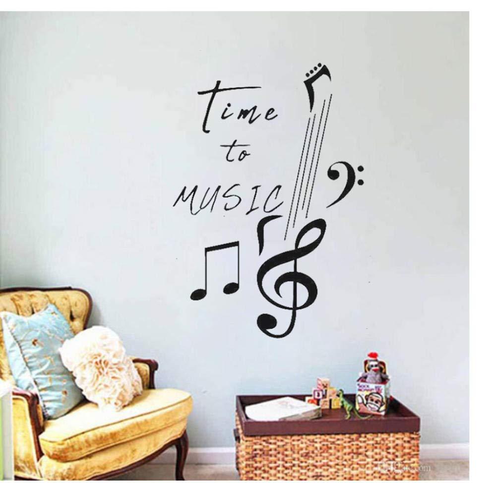 Tatuajes De Pared Cita Nota Inscripción Melodía Canción Vinilo ...