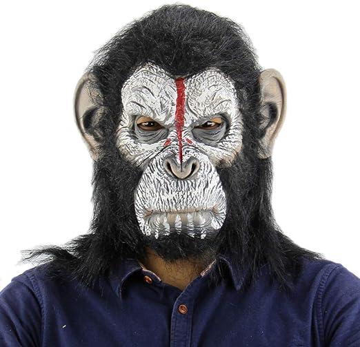 King Kong Planeta De Los Simios Gorila Máscara Capucha Mono Látex ...