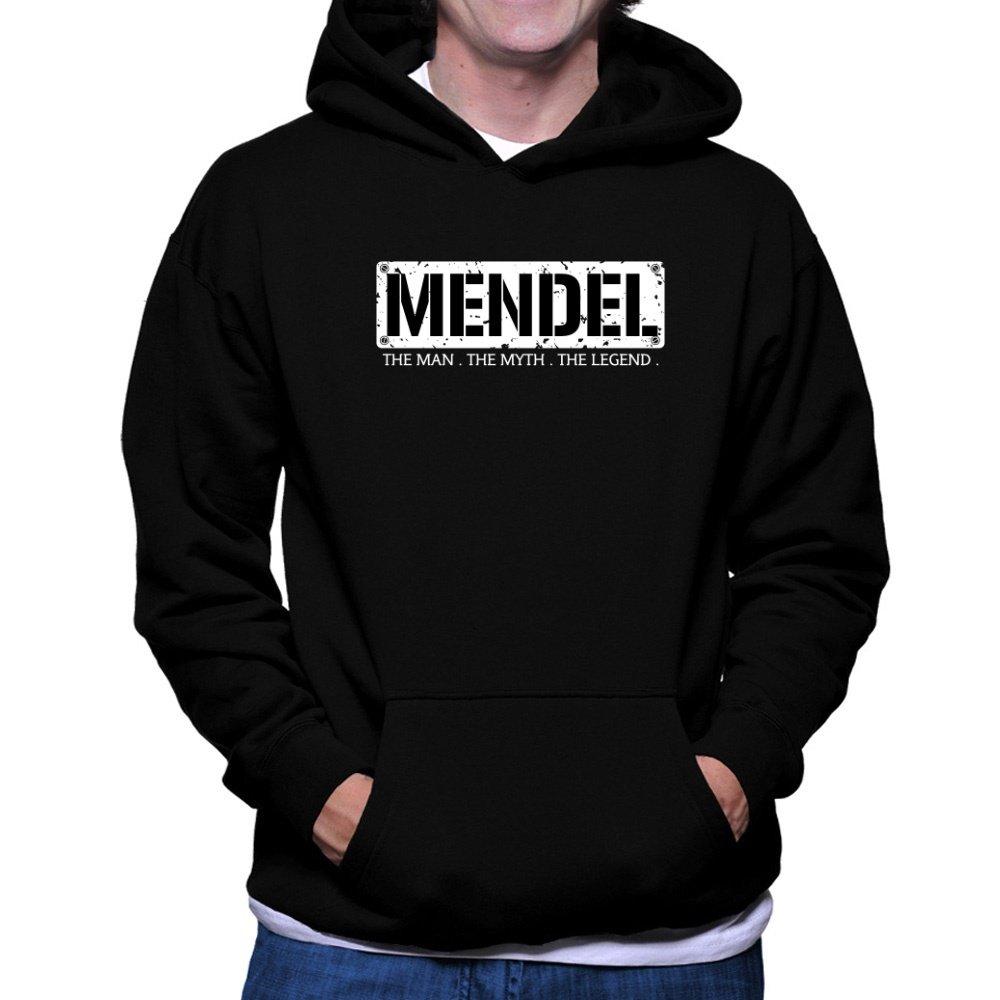 - Teeburon Mendel THE MAN THE MYTH MYTH MYTH THE LEGEND Hoodie ae6ad8