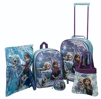 SAMBRO DFR-8102-ARG Frozen - Juego de carritos (5 Piezas): Amazon.es: Juguetes y juegos