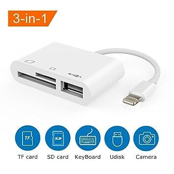 Branchement de carte SD pour iPad