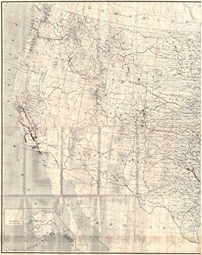 Oil Gas Map (Historic Map | 1913 United States, Oil and Gas Fields in 1913 (Western Half) | U.S. Geological Survey)