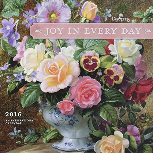 "DaySpring 12"" x 12"" 2016 12-Month Wall Calendar, Joy in Every Day (73446)"
