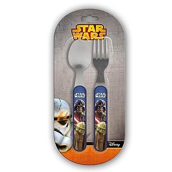 Star Wars Set 2 Cubiertos (Suncity SWA101762): Amazon.es: Juguetes y juegos