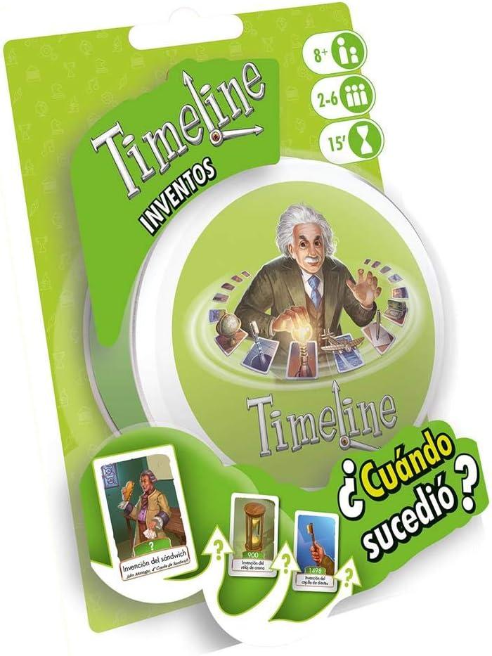 Zygomatic- Timeline: Inventos, Multicolor, Talla Única (Asmodée TIME01ES)