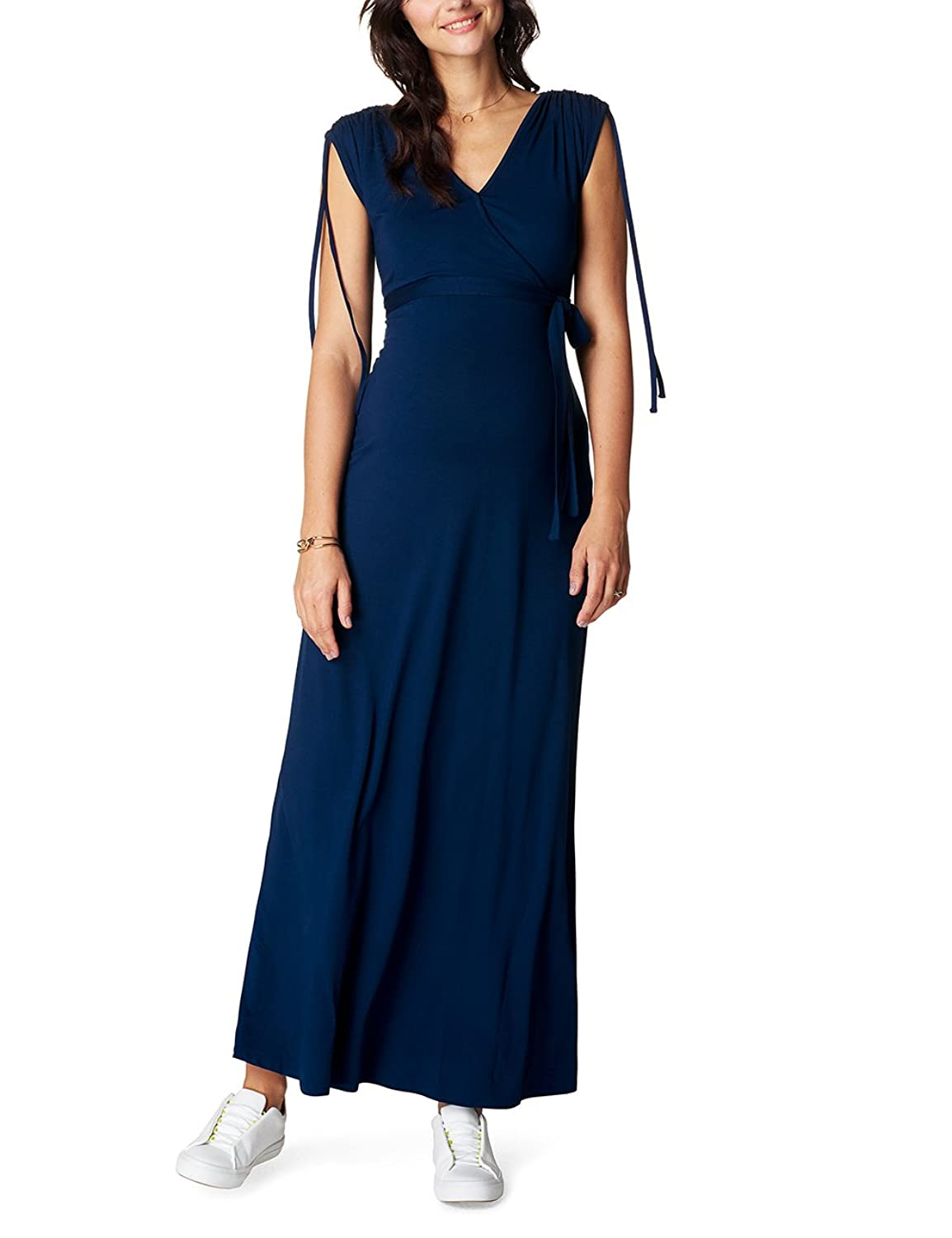 Noppies Damen Umstandskleid Dress Nurs Long May 70213