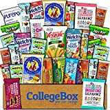 College Box Healthy Care Package (30 Count) Natural Bars Nuts Fruit Health Nutritious Snacks Variety Gift Box Pack Assortment Basket Bundle Mix Sample College Student Office Fall Back School Halloween