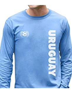 TeeStars - Uruguay National Soccer Team Soccer Fans Long Sleeve T-Shirt