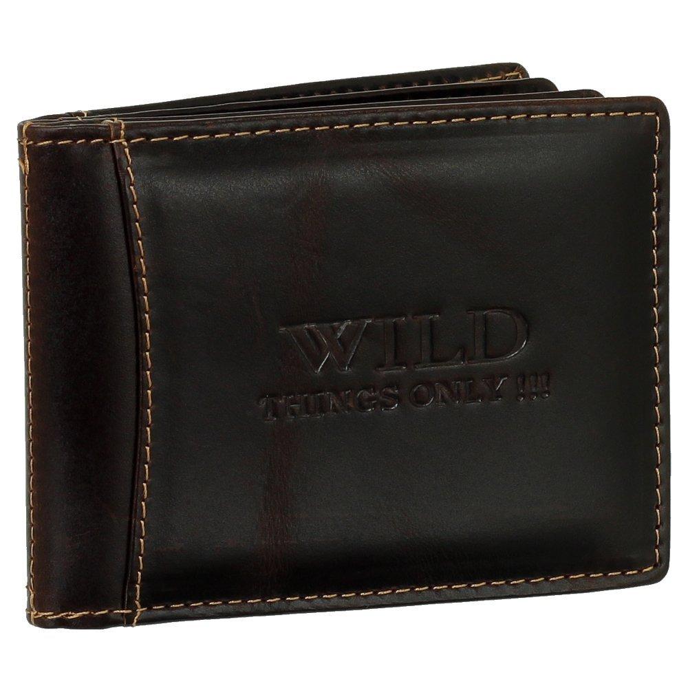 Luxus Leder Kartenetui Kreditkartenetui Ausweismappe Ausweisetui Dokumententasche KFZ Mappe Farbe braun