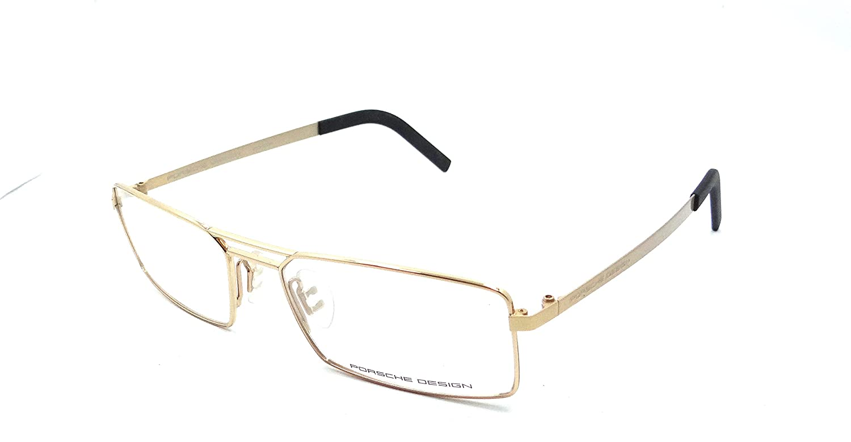 08b310146b35 ... Porsche Design Rx Eyeglasses Frames P8282 C 55x17 Gold Made in Italy