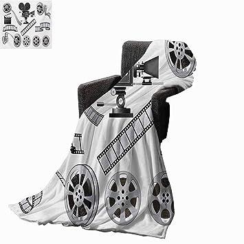 Amazon.com: Movie Theater Printing Throw Blanket,Movie ...