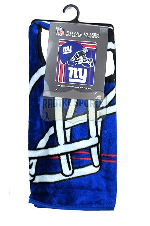 01fc41eef Image Unavailable. Image not available for. Color  New York Giants  Officially Licensed NFL Raschel Throw Blanket