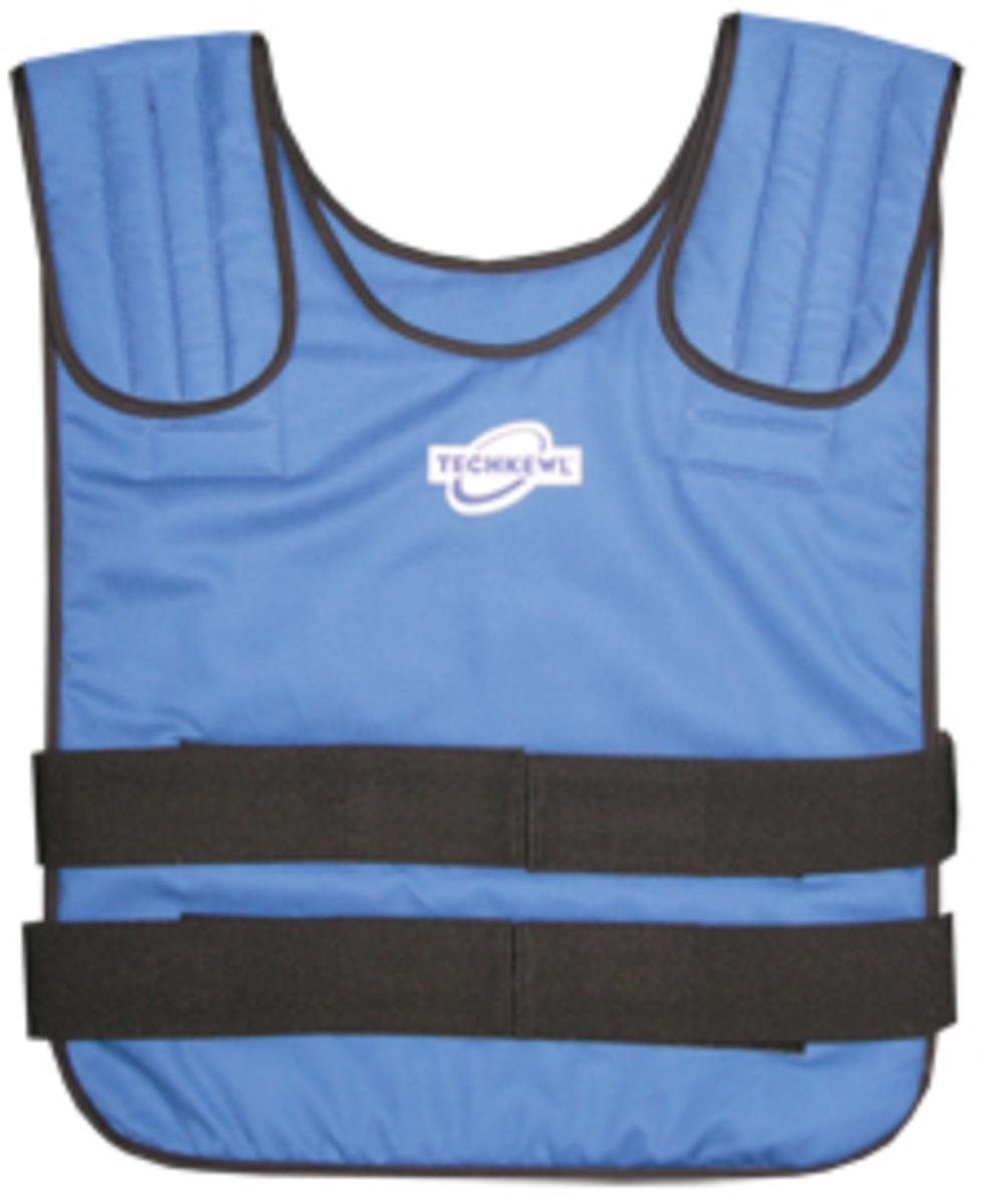 TECHKEWL PHASE CHANGE PULLOVER STYLE COOLING VEST (Medium/Large (100-175 lbs))