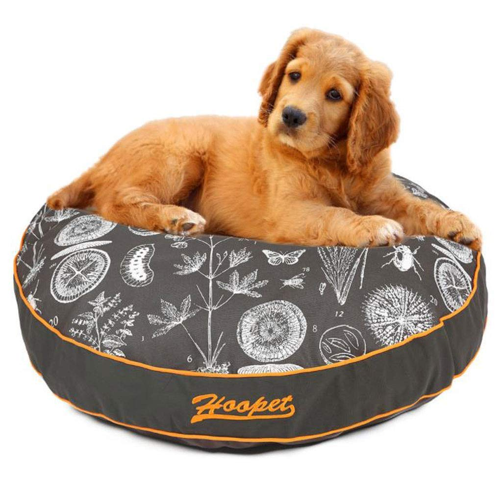 M(909013cm) KYCD Pet Bed Round Mat Washable Pet Supplies Small Medium Large Dog Bed Four Seasons (Size   M(90  90  13cm))