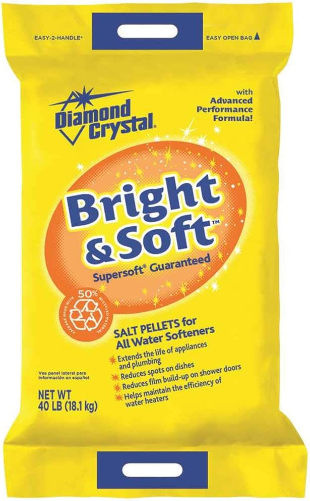 Diamond Crystal Salt Pellets Bag 40 Lb.