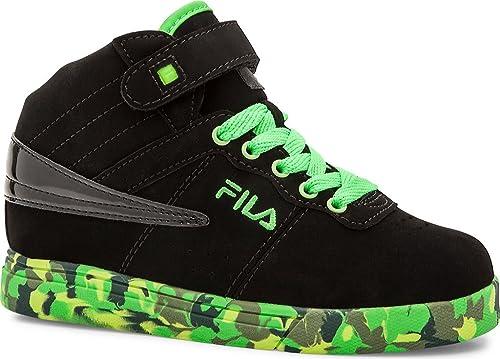 Fila Vulc 13 Mashup Jovenes US 7 Negro Zapato de Baloncesto ...