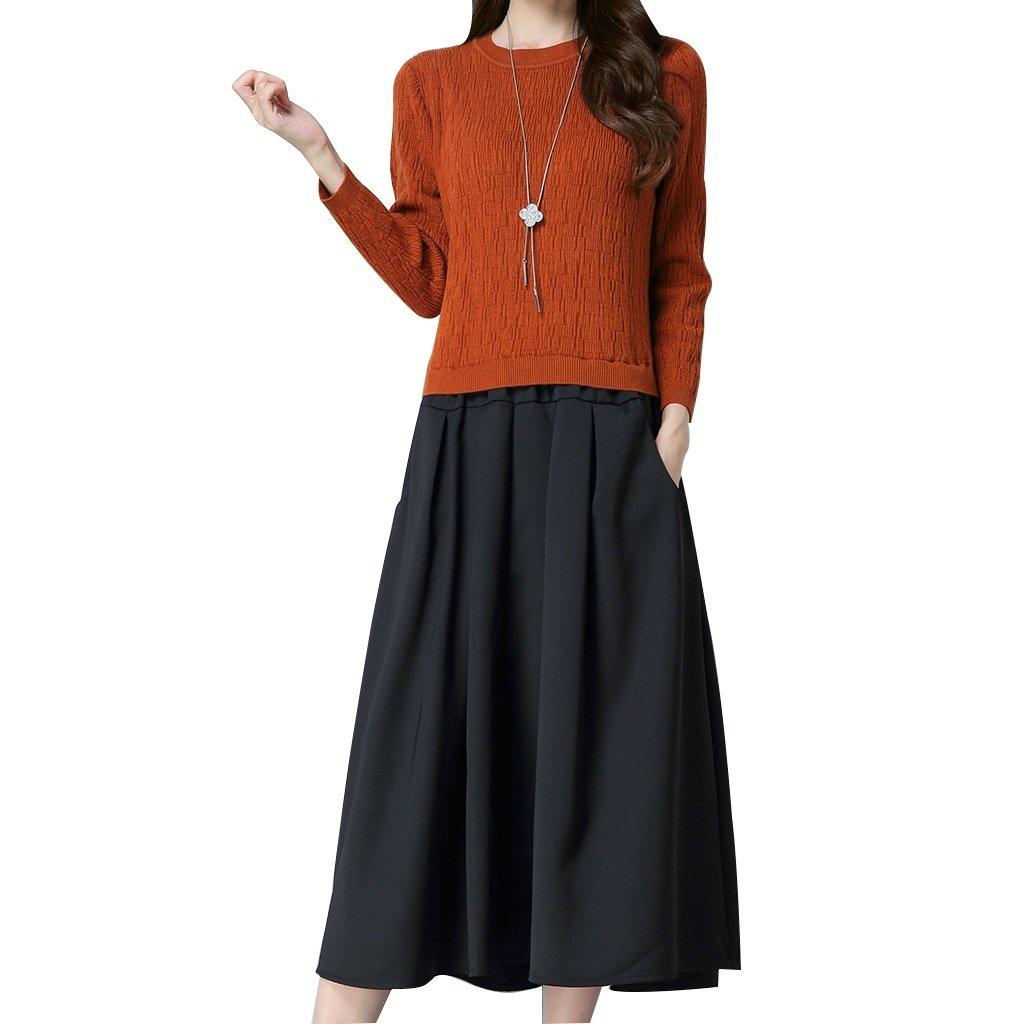 alus- Otoño y Invierno – coreano Fashion mono falda vestido de ...