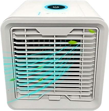 MINI DESKTOP Portatile Condizionatore Umidificatore Ventola Di Raffreddamento Cooler CASA UFFICIO