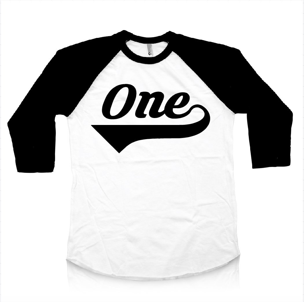 First Birthday Shirt For Boys Baby Raglan Long Sleeve 1st Bday I'm This Many