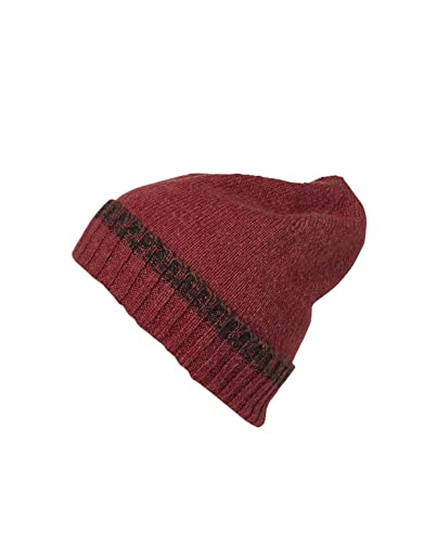 myrtle beach Traditional Beanie in red/anthracite-melange Talla: talla única
