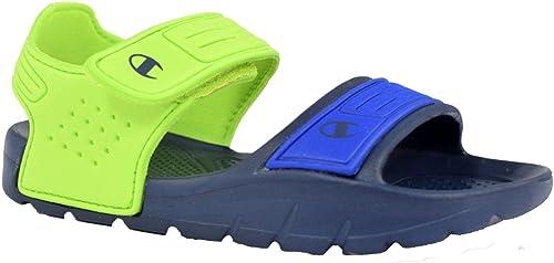Champion Squirt B Ps Sandali Bambino Blu Verde S31243 Bs501 Amazon It Scarpe E Borse