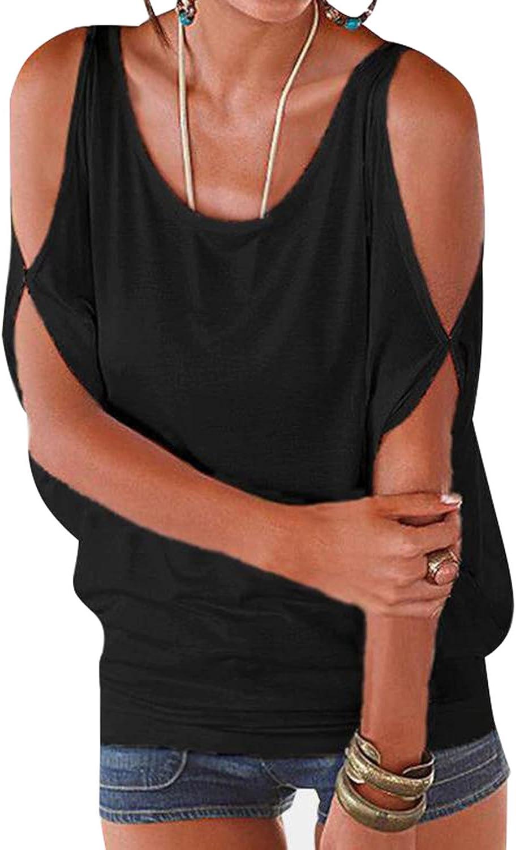YOINS Mujer Camiseta Sin Mangas Chaleco Manga Corta Chaleco Sin Hombros Chaleco Casual con Cordones Chaleco Deportivo Mini Vestido Tops