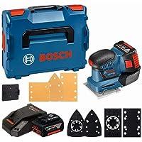 Bosch Professional 18V System Accuvlakschuurmachine Gss 18V-10 (Incl. 2X 5,0Ah-Accu + Oplader, Schuurpapier, 3X…