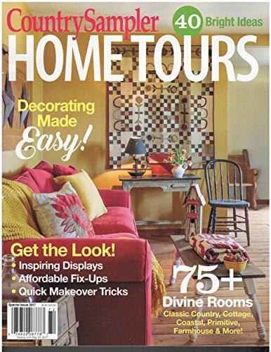 Country Sampler Home Tours Magazine 2017 -