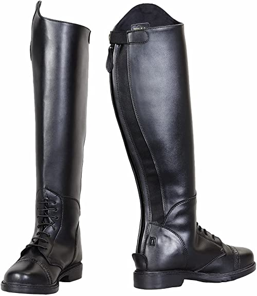 Kid's Synthetic Leather Horse Riding Boots [TuffRider] Picture
