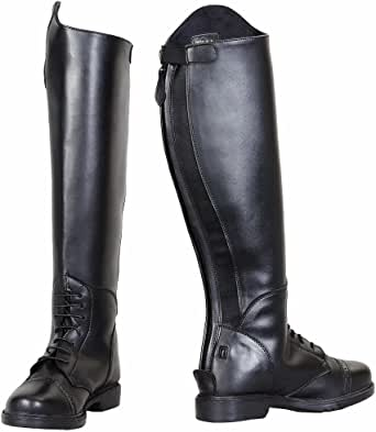 TuffRider Kid's Starter Back Zip Field Boots in Synthetic Leather