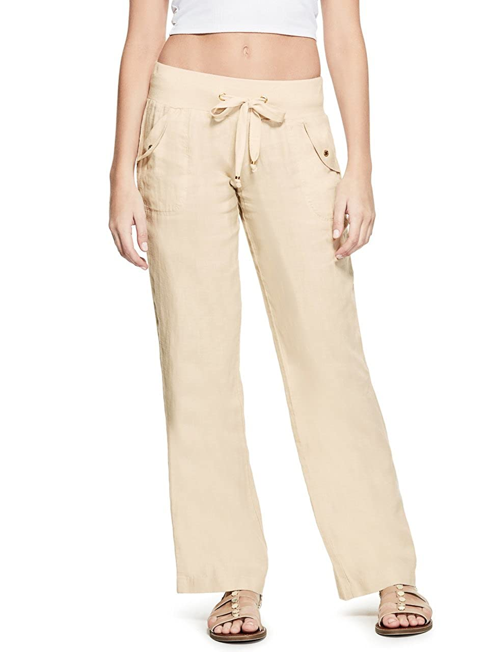 G by GUESS Shanelle Linen Pants GByGUESS R64B0100000