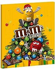 M&M's & Friends Calendario Dell' Avvento Assortimento Misto - Pacco da  1 pezzi x
